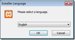 xampp-select language